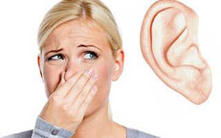 Почему у человека неприятно пахнет из уха?
