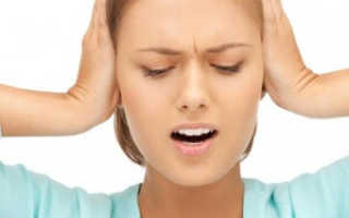 Почему давит на уши изнутри?
